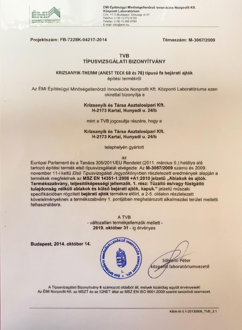 tvb-tipusvizsgalati-bizonyitvany-m-3067