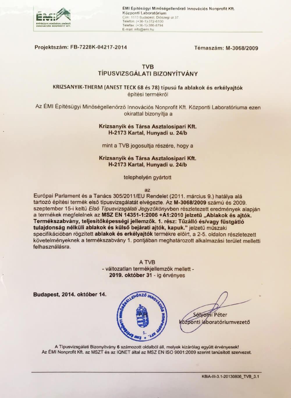 tvb-tipusvizsgalati-bizonyitvany-m-3068